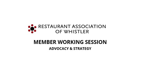 Member Working Session: Advocacy & Strategy tickets
