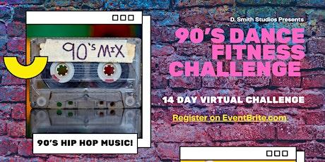90s Dance Fitness Challenge Tickets