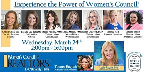 Experience the Power of Women's Council!  EQUAL PAY DAY Celebration on 3/24 biglietti