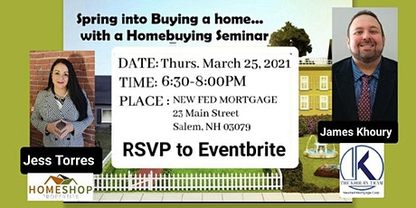 Spring into Buying a Home Seminar tickets