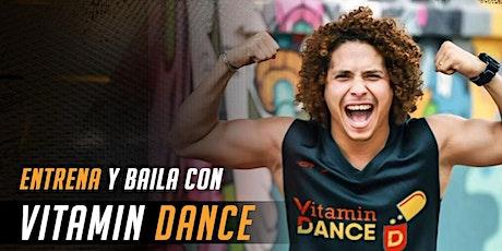 Entrena y baila con @pekovanity y su programa Vitamin Dance entradas