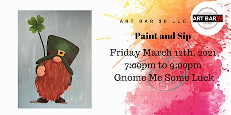 BYOB Public Paint and Sip|Wadena MN|Gnome Me Some Love tickets