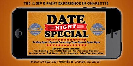 Weekend: Date Night (Sip & Paint) tickets