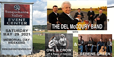 Live! Del McCoury Band with Owl & Crow and Serene Green tickets