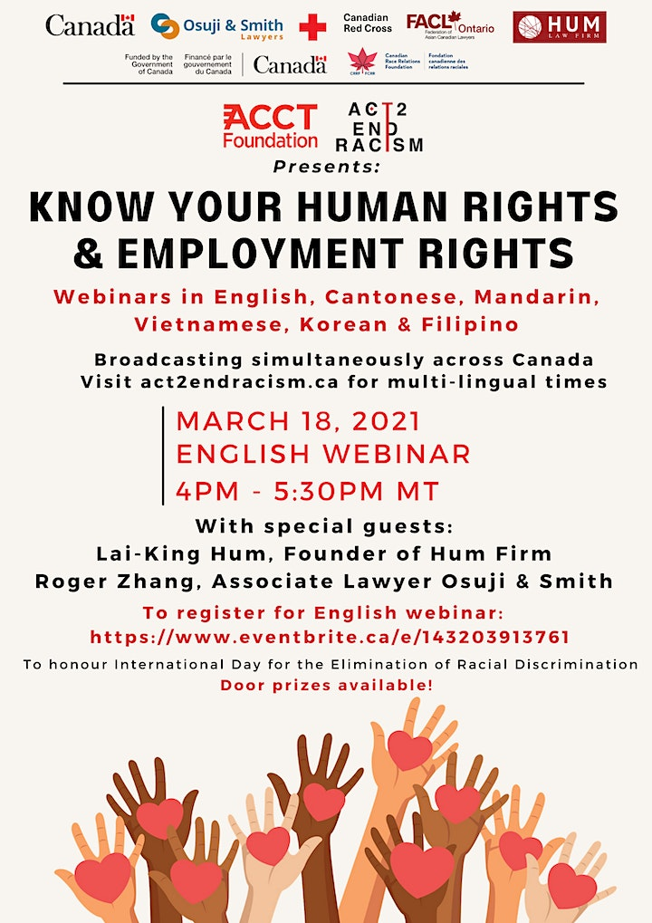 Know Your Human Rights & Employment Rights image
