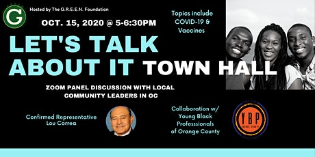 Let's Talk About It! Town Hall: COVID & Vaccines tickets