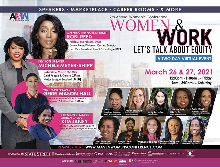 9th Annual Virtual Women's Conference - Two Day Event image