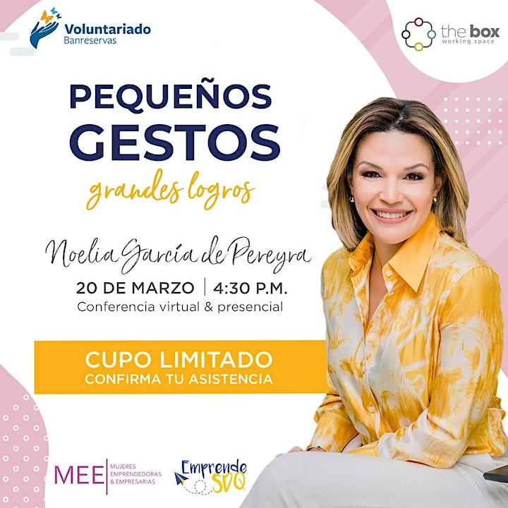 Imagen de One to One (online) con Noelia García de Pereyra - Voluntariado Banreservas