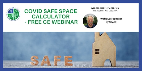 Covid Safe Space Calculator - Free CE Webinar tickets