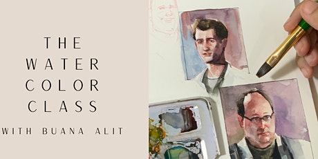 Watercolor Class with Buana Alit Arts tickets
