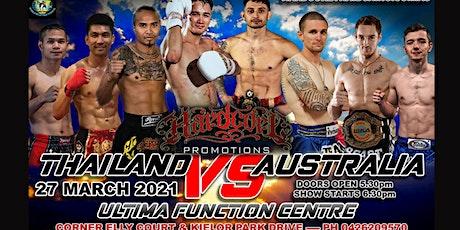 Australia VS. Thailand Muay Thai Fight Series tickets