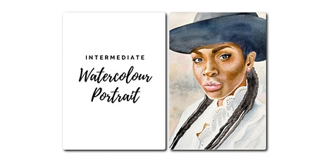 Watercolour Portrait Workshop - [Intermediate: Level 1] tickets