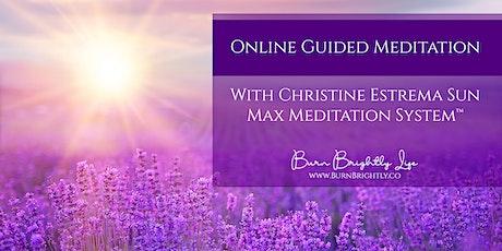 Max Meditation™ Online Tickets