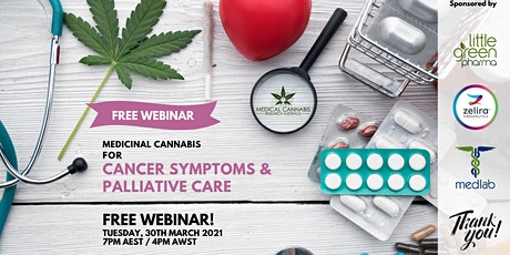 Medicinal Cannabis for Cancer Symptoms and Palliative Care - A FREE Patient tickets