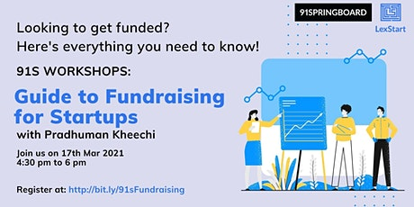 Guide to Fundraising for Startups tickets
