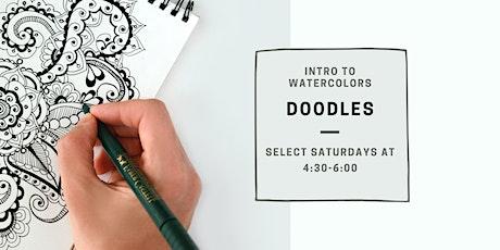 Watercolor Doodles tickets