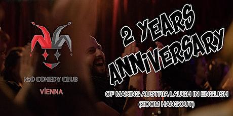 2 Year Anniversary Celebration (Online - Zoom) tickets