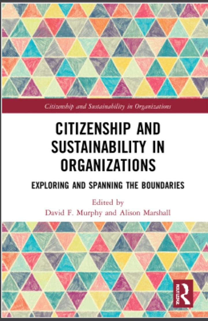 """""""Citizenship & Sustainability in Organizations"""" Book Launch image"""