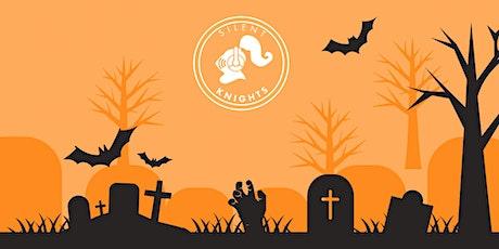 Family Halloween Silent Disco! Dobbie Hall tickets