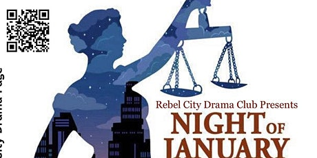 RCDC performance of Ayn Rand's Night of January 16 tickets
