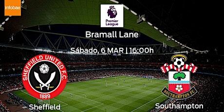 StREAMS@>! (LIVE)-Southampton v United Sheffield LIVE ON fReE 2021 tickets