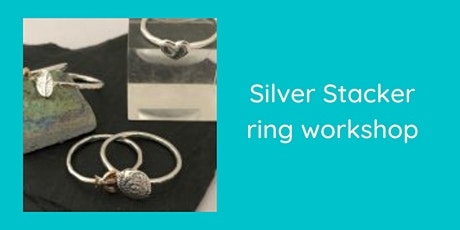 Silver stacker ring workshop tickets
