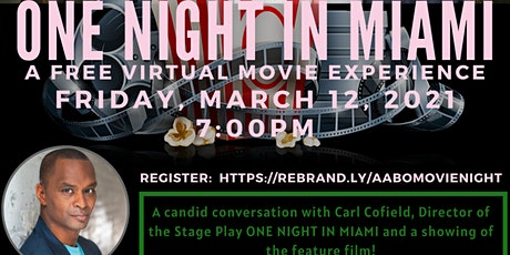 A Virtual Movie Experience: One Night In Miami tickets
