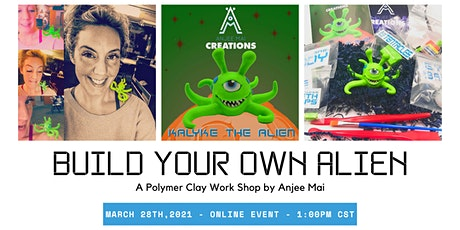 Virtual Workshop: Build Monsters With Polymer Clay tickets