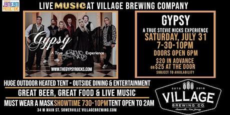 Gypsy - A True Stevie Nicks Experience @ Village Brewing Company! tickets