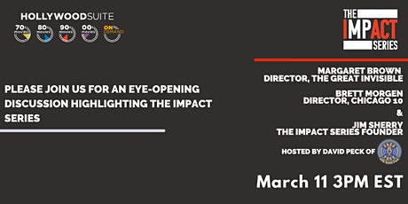 THE IMPACT SERIES - Stories That Can Change The World - A Live Discussion tickets
