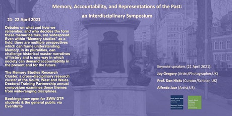 Online Symposium: Memory, Accountability and Representations of the Past tickets
