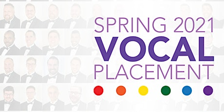 Spring 2021 Vocal Placement (Pre-Register) tickets