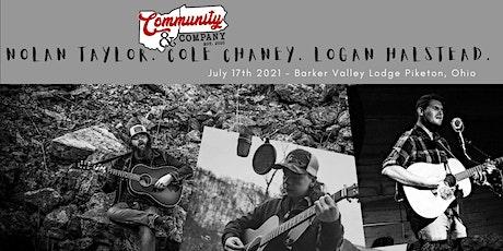 Nolan Taylor, Cole Chaney & Logan Halstead   Piketon OH tickets