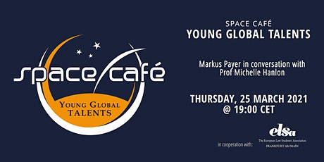 Space Café Young Global Talents by Markus Payer tickets