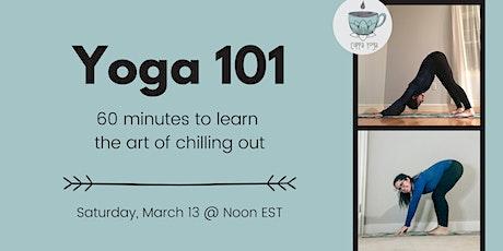 Yoga 101: Beginner Virtual Workshop tickets