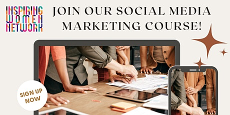 Social Media Marketing Course- Create your own bespoke strategy tickets