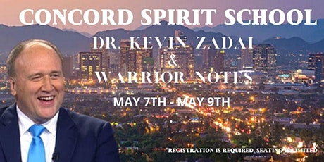 Join Kevin and Warrior Notes for a special Concord Spirit School tickets