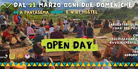 Open Day a Pantasema tickets