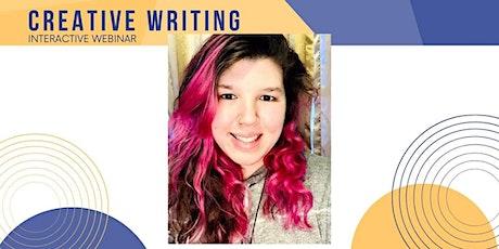 Creative Writing Interactive Webinar tickets