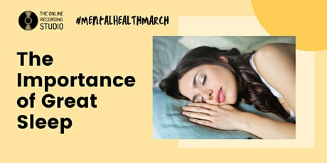 The Importance of Great Sleep tickets