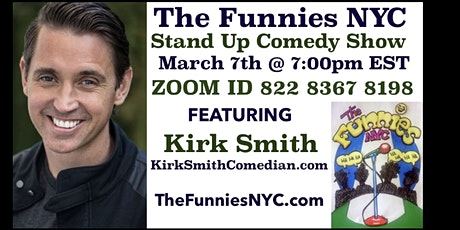 """""""The Funnies NYC"""" Stand Up Comedy Show tickets"""
