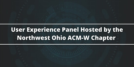 NWO ACM-W presents a User Experience Panel tickets