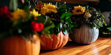 Halloween Flower Arrangement tickets