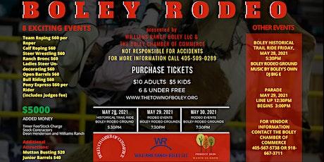 Boley Rodeo tickets