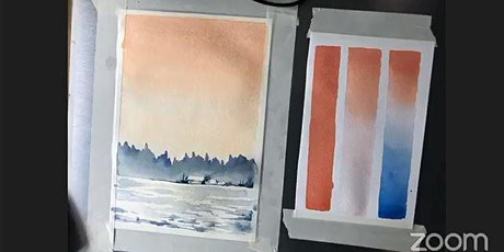 Watercolor Art Workshop for Kids and Adults tickets