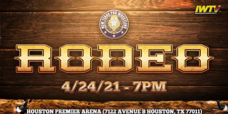 """New Texas Pro Wrestling Presents: """"Rodeo"""" tickets"""