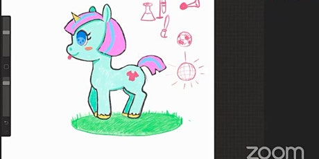 Drawing a Cartoon Unicorn - Digital Art Workshop tickets