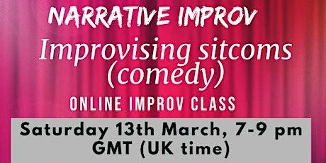 Narrative improv - Sitcoms (comedy) tickets