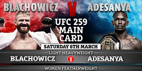StREAMS@>! (LIVE)-UFC 259 FIGHT LIVE ON fReE 2021 tickets