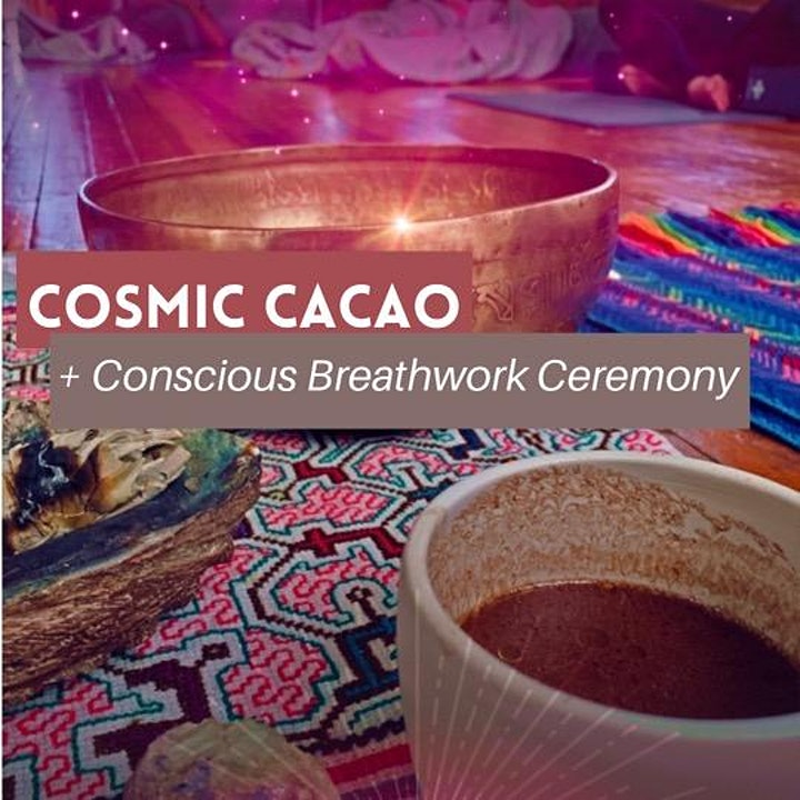 SOLSTICE Cacao + Breathwork Ceremony image